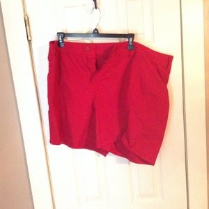 Red Shorts by St Johns Bay Size 20W